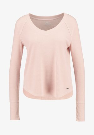 LONG SLEEVE EASY - Langærmede T-shirts - canyon rose