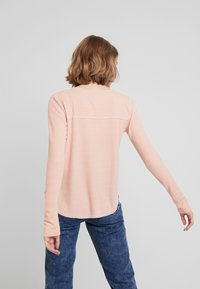 Hollister Co. - LONG SLEEVE EASY - Long sleeved top - canyon rose - 2