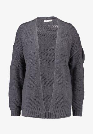 AIRY STITCHY CARDI - Vest - dark grey