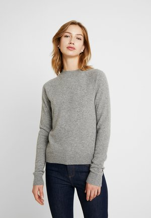 BASIC  - Strikkegenser - grey