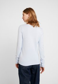 Hollister Co. - ICON CREW - Sweter - light blue - 2