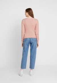 Hollister Co. - CABLE VNECK - Pullover - blush - 2