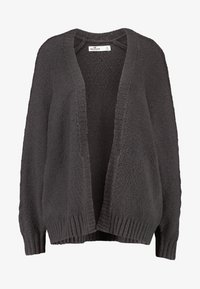 Hollister Co. - AIRY CARDIGAN CABLE - Vest - grey - 4