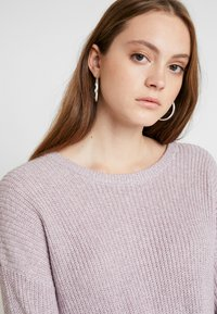 Hollister Co. - MULTI WAY TIE FRONT SWEATER - Pullover - lilac - 3