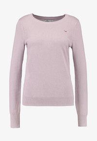 Hollister Co. - ICON CREW - Jumper - lilac - 3