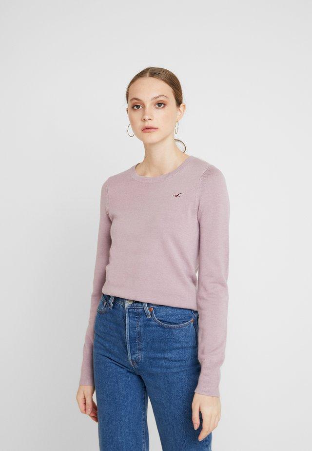 ICON CREW - Stickad tröja - lilac