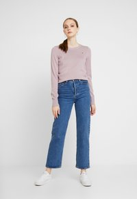 Hollister Co. - ICON CREW - Jumper - lilac - 1