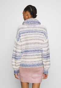 Hollister Co. - TURTLENECK - Trui - grey, dark blue - 2