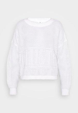 FASHION GRAPHIC - Pullover - white