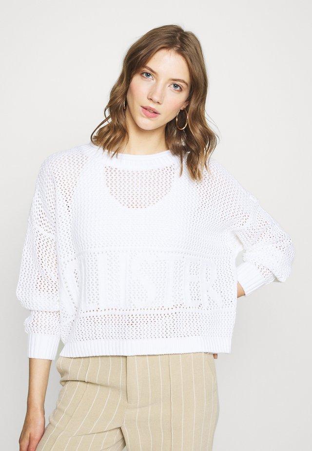 FASHION GRAPHIC - Jersey de punto - white