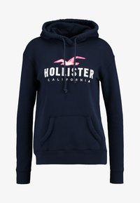 Hollister Co. - CORE - Felpa con cappuccio - navy - 3