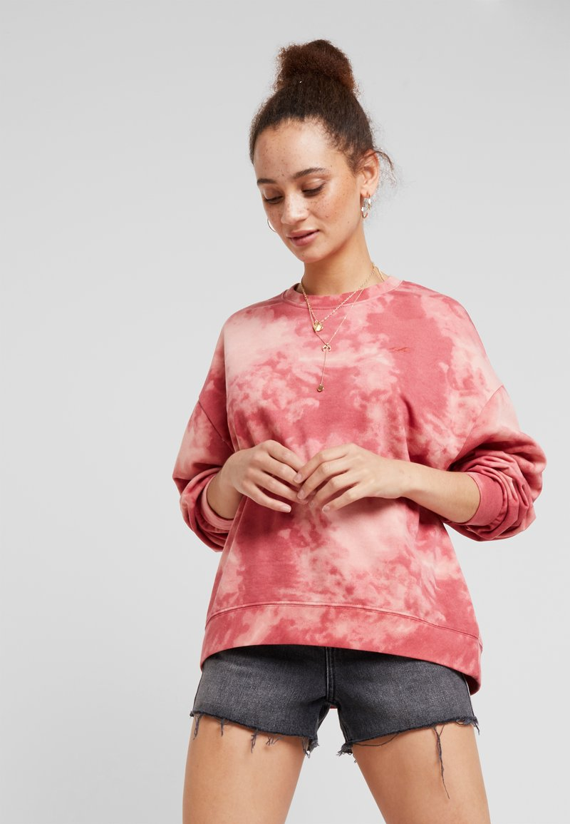 Hollister Co. - OVERSIZED - Sweatshirt - red wash
