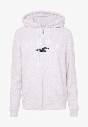 CORE STATEMENT - Zip-up hoodie - grey