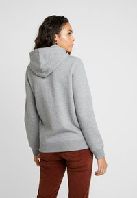 Hollister Co. - FLORAL LOGO POPOVER - Hoodie - grey - 2