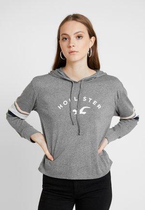 HOODIE - Camiseta de manga larga - grey