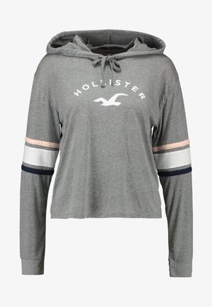 HOODIE - Long sleeved top - grey