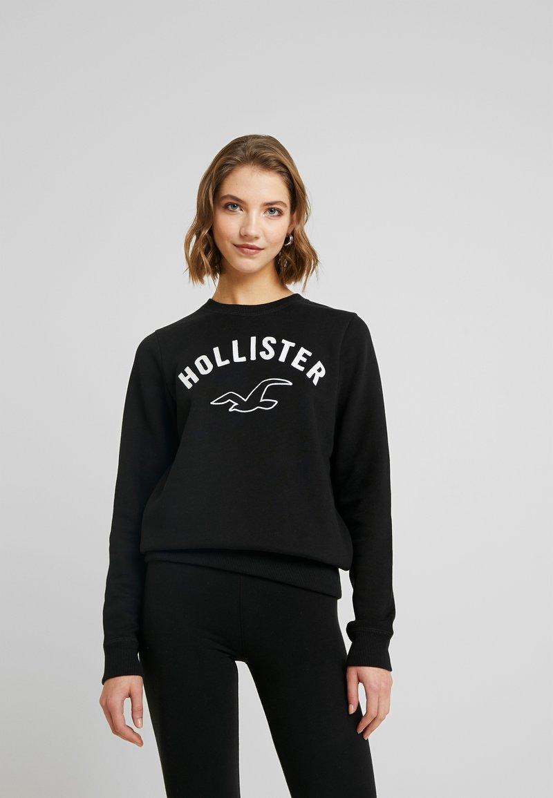 Hollister Co. - TIMELESS CREW - Sudadera - black