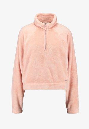 PILE MOCK - Sweatshirt - peach