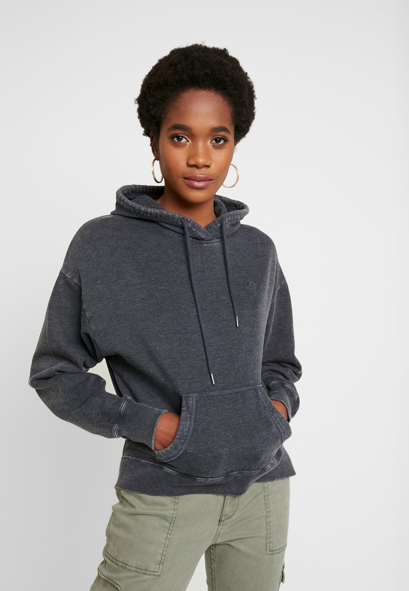 Hollister Co. - CHASE ICON POPOVER - Hoodie - black
