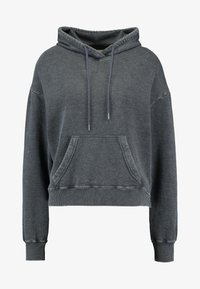 Hollister Co. - CHASE ICON POPOVER - Hoodie - black - 4
