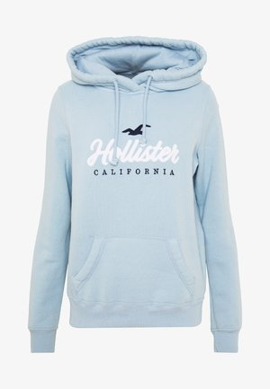 CORE LARGE SCALE LOGO - Hoodie - light blue