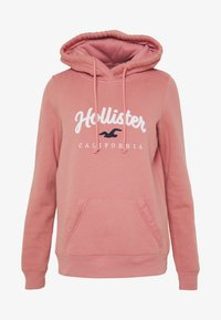 Hollister Co. - Jersey con capucha - pink - 4