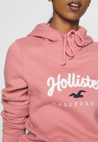 Hollister Co. - Jersey con capucha - pink - 5