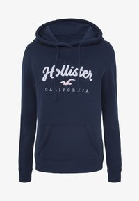 Hollister Co. - Bluza z kapturem - navy - 4
