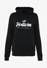 Hollister Co. - CORE PO LARGE SCALE LOGO - Hoodie - black - 3