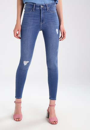HIGH RISE - Jeggings - medium