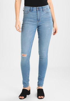 Skinny džíny - medium destroy