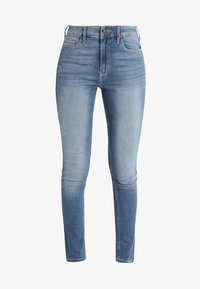 Hollister Co. - HIGH RISE MEDIUM CLEAN SUPER - Skinny džíny - stone blue denim - 3