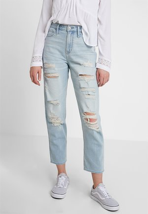 MAX DESTROY MOM - Jeans Relaxed Fit - light-blue denim