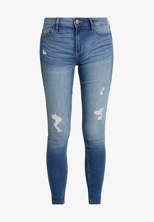 MEDIUM RISE SUPER - Jeans Skinny Fit - blue denim