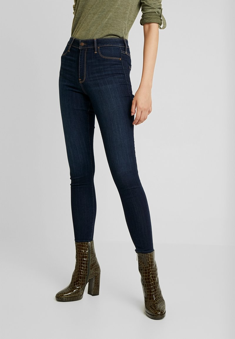 Hollister Co. - HIGH RISE - Jeggings - dark clean