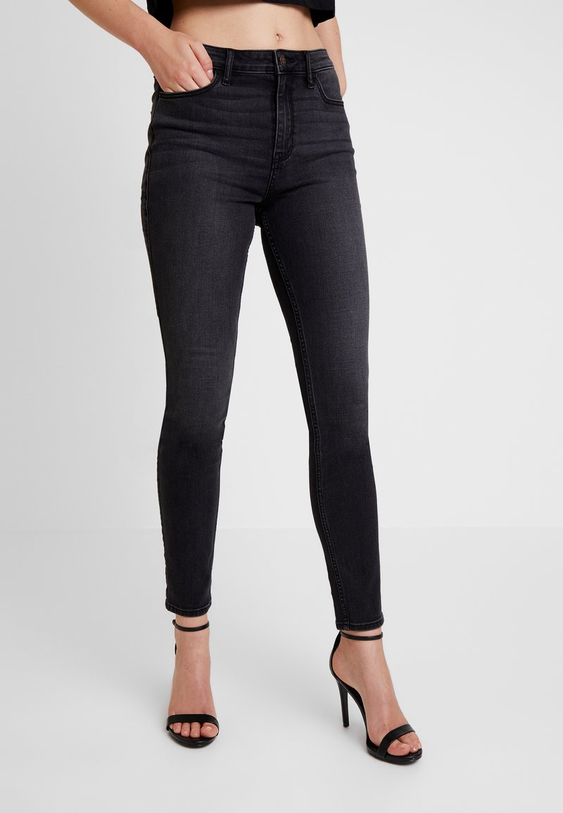 Hollister Co. - HIGH RISE - Jeans Skinny Fit - black