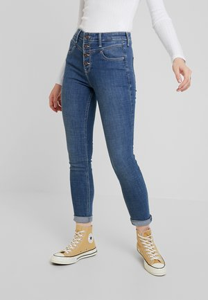 HIGH RISE SUPER  - Jeans Skinny Fit - medium yoke shank front