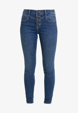 HIGH RISE SUPER  - Jeans Skinny Fit - medium yoke shank front