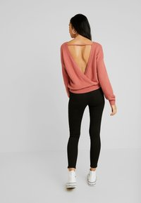 Hollister Co. - DEST - Skinny džíny - black - 2