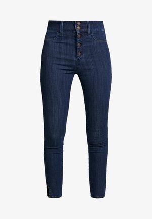 RINSE SHANK - Skinny džíny - dark-blue denim