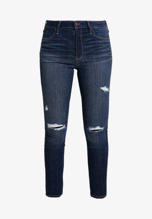 DESTROY - Jeans Skinny - dark-blue denim