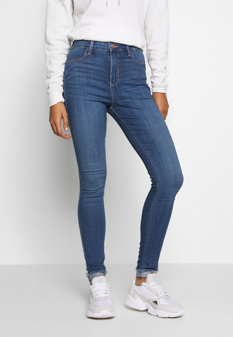 Hollister Co. - CURVY - Jeans Skinny Fit - medium