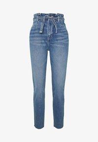Hollister Co. - CHASE MOM  - Jeansy Slim Fit - light blue denim - 0