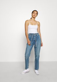 Hollister Co. - CURVY MOM  - Relaxed fit jeans - blue denim - 1