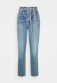Hollister Co. - CURVY MOM  - Relaxed fit jeans - blue denim - 3