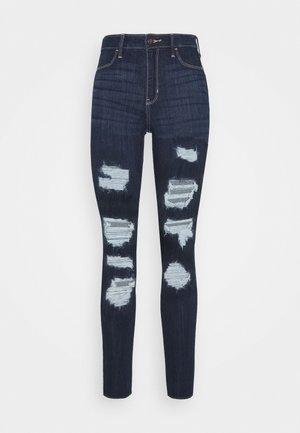 CURVY MAX  - Skinny džíny - destroyed denim