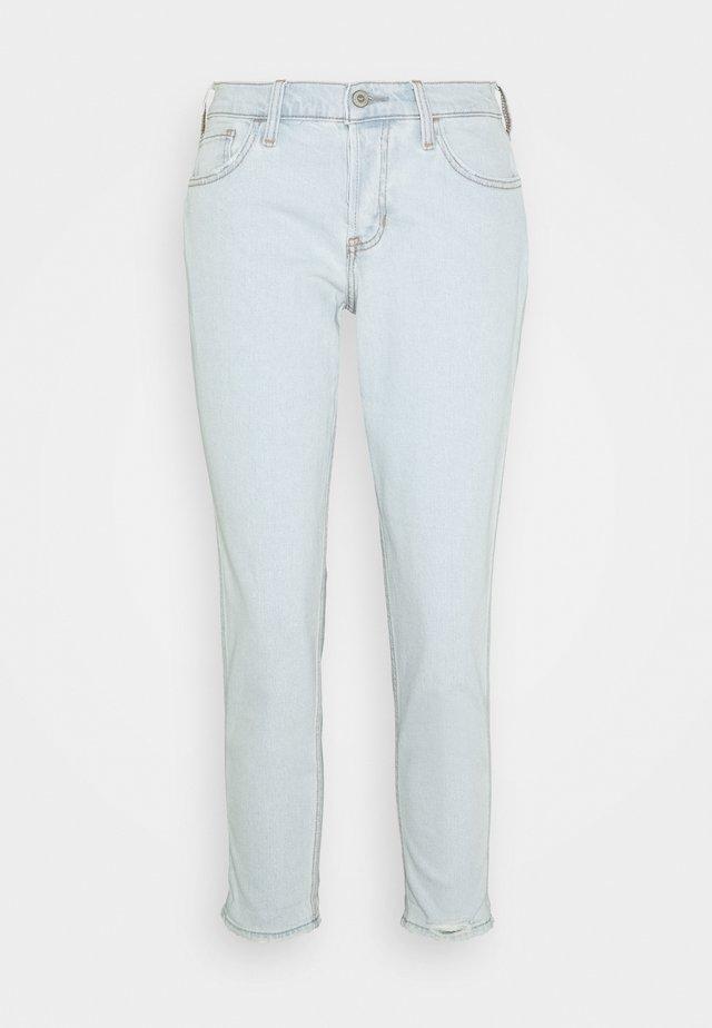 WHISKERLESS  - Slim fit jeans - light-blue denim