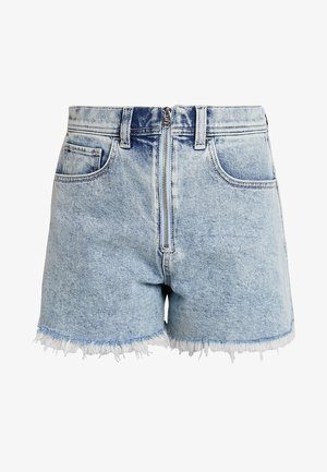 ULTRA HIGH RISE LIGHT EXPOSED SHANK VINTAGE - Jeansshorts - light with exposed shank
