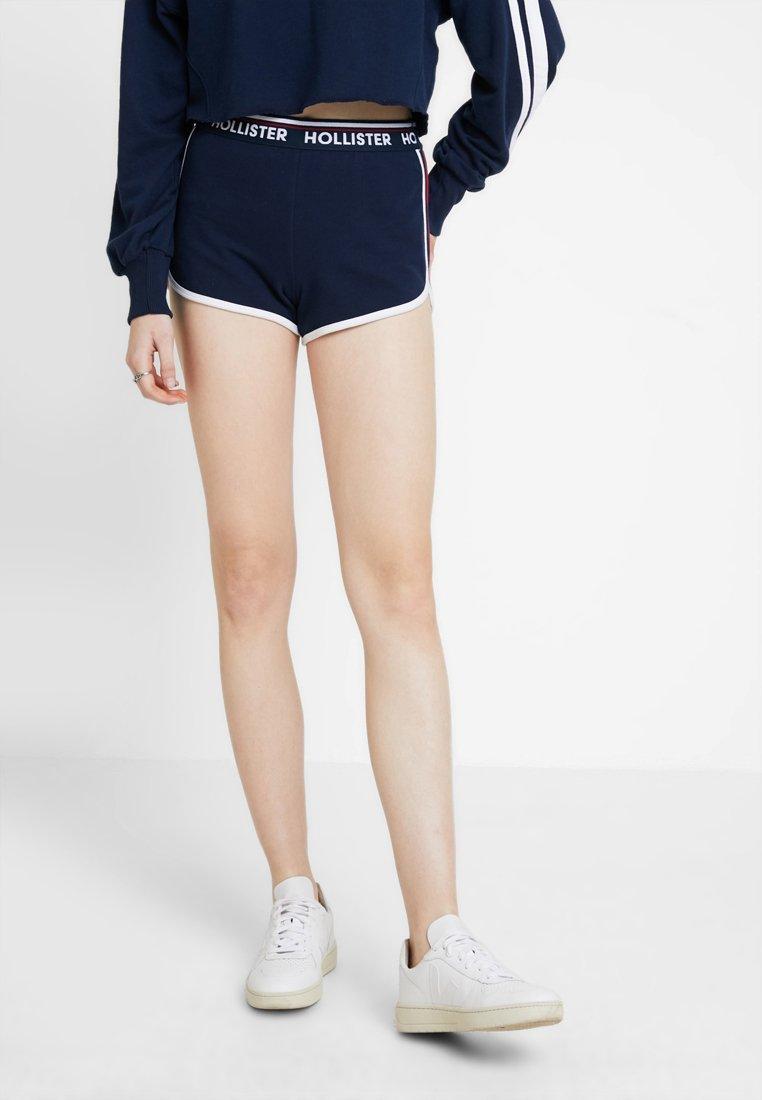 Hollister Co. - DOLPHIN HEM - Shorts - navy