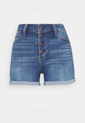 Szorty jeansowe - dark-blue denim